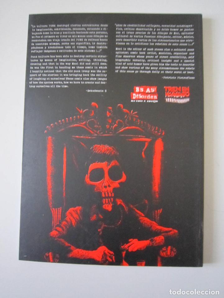 Libros: LIBRO - ILUSTRADO - PUNK ROCK, ANARQUÍA Y TINTA CHINA (POR MAX.VADALA) - EDICIÓN MEXICANA - Foto 2 - 189643095