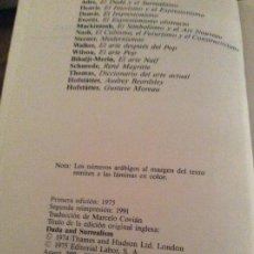 Libros: EL DADA Y EL SURREALISMO 1 EDICION. Lote 190390541