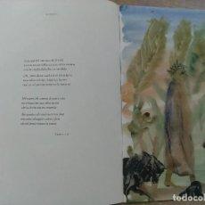 Libros: CUADERNO LA DIVINA COMEDIA ILUSTRACIONES DE MIQUEL BARCELÓ. Lote 194931300