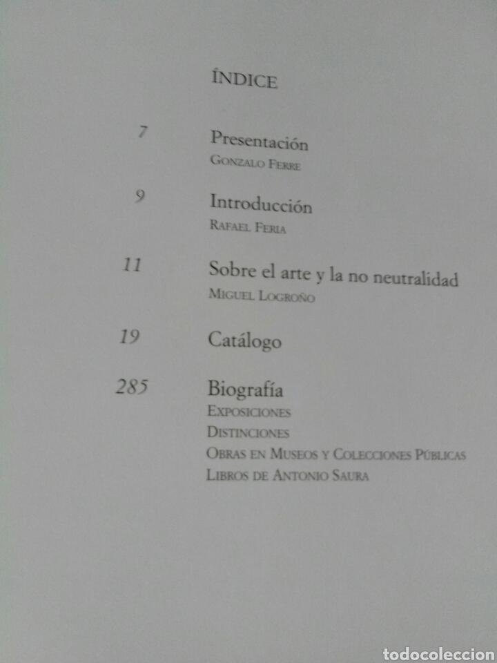 Libros: ANTONIO SAURA OBRA GRÁFICA. - Foto 5 - 195356236