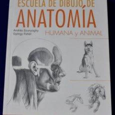 Libros: ESCUELA DE DIBUJO DE ANATOMIA HUMANA Y ANIMAL (EN PAPEL) - ANDRAS SZUNYOGHY. Lote 195924972