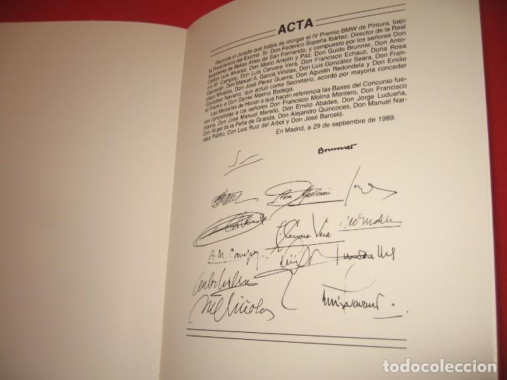 Libros: LIBRO DE LOS IV PREMIOS DE BMW DE PINTURA EN 1989 - Foto 5 - 197615741