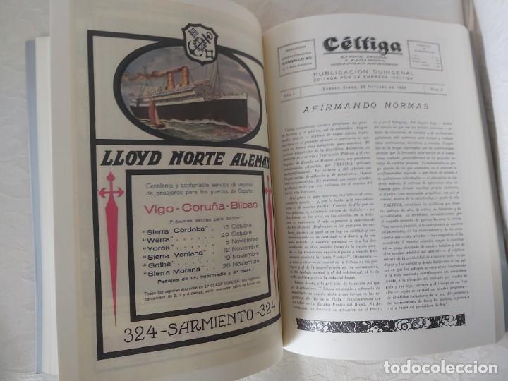 Libros: CÉLTIGA Bos Aires. Xunta Galicia. Edición facsimil - Foto 7 - 197910856