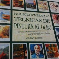 Libros: TÉCNICA DE PINTURA AL OLEO. Lote 199241587