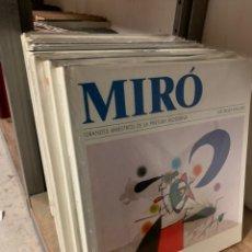 Livros: GRANDES MAESTROS PINTURA MODERNA. Lote 199419942