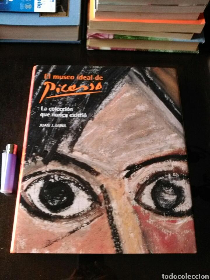 Libros: EL MUSEO IDEAL DE PICASSO. LA COLECCIÓN QUE NUNCA EXISTIÓ. JUAN J. LUNA. LUNWERG. - Foto 2 - 199484633