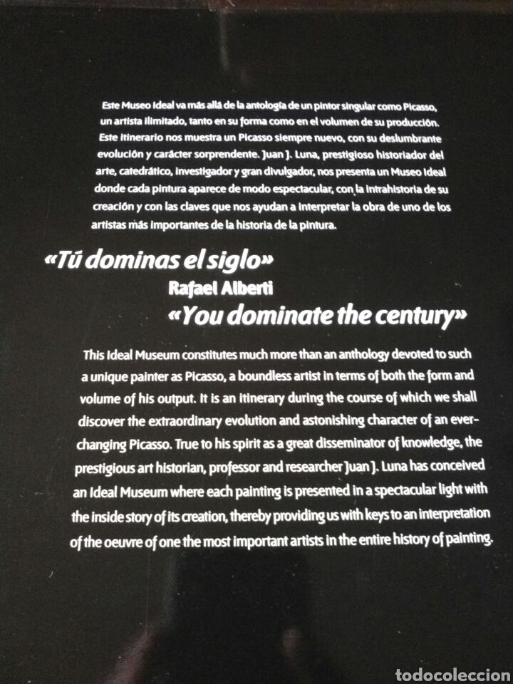 Libros: EL MUSEO IDEAL DE PICASSO. LA COLECCIÓN QUE NUNCA EXISTIÓ. JUAN J. LUNA. LUNWERG. - Foto 3 - 199484633