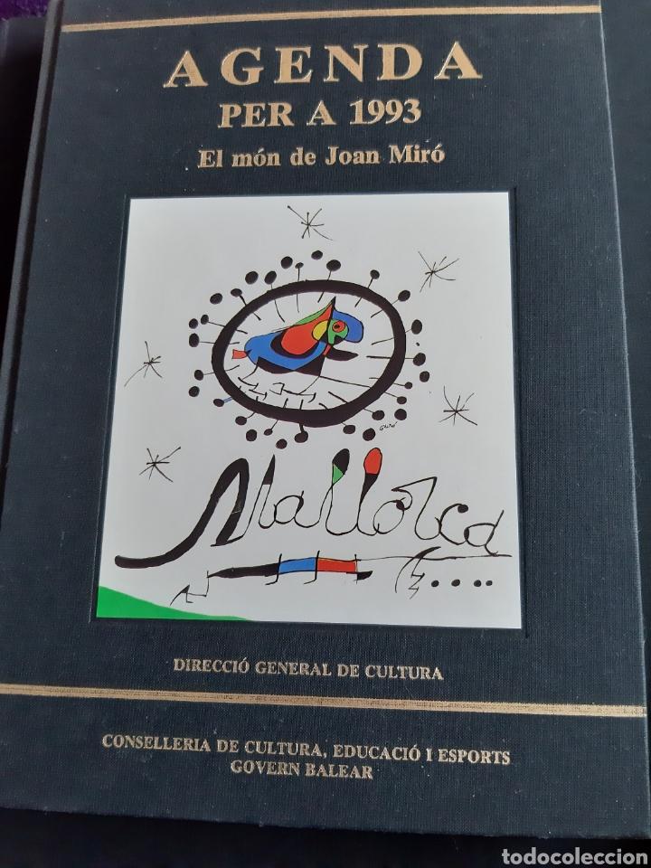 AGENDA PER A 1993. EL MON DE JOAN MIRO (Libros Nuevos - Bellas Artes, ocio y coleccionismo - Pintura)