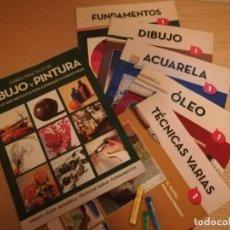 Libros: CURSO PRÁCTICO DE DIBUJO Y PINTURA - 1 - 5 FASCÍCULOS - RBA. Lote 201159647