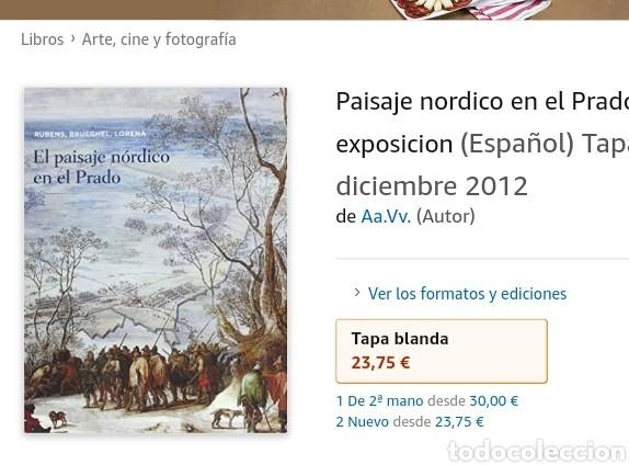 Libros: CATALOGO EL PAISAJE NÓRDICO EN EL PRADO - Foto 3 - 206161367