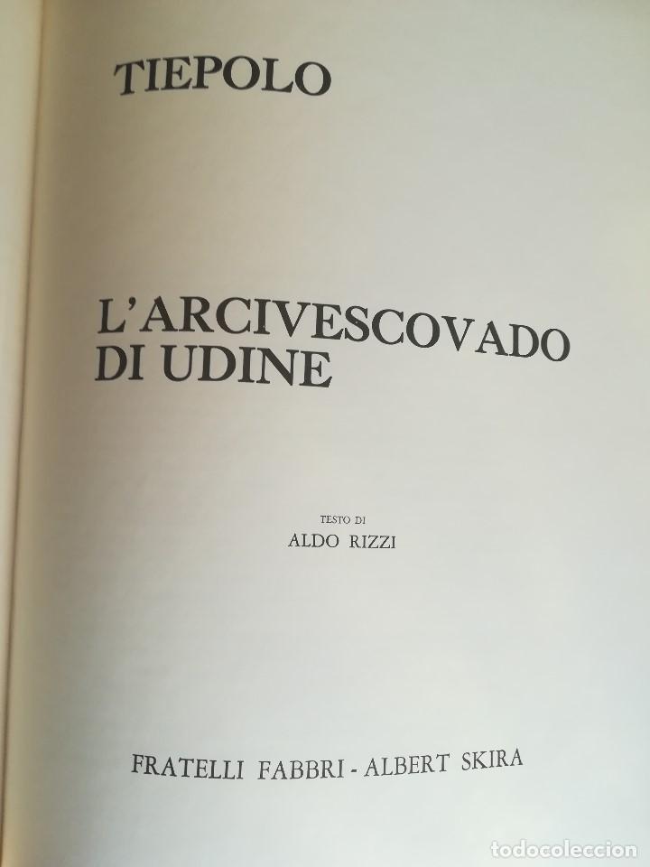 Libros: TIEPOLO. I GRANDI DECORATORI. L´ARCIVESCOVADO DI UDINE. FABRI SKIRA. MILANO 1965 - Foto 2 - 206234342