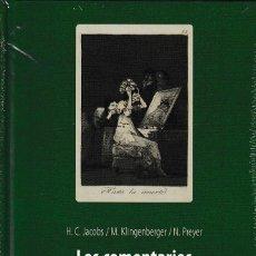 Libros: LOS COMENTARIOS MANUSCRITOS SOBRE LOS CAPRICHOS DE GOYA VOL. II (VV.AA) I.F.C. 2020. Lote 207015463