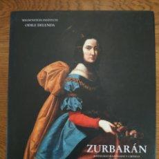 Livres: ZURBARAN CATALOGO RAZONADO Y CRITICO VOLUMEN 1 CON CD - ODILE DELENTA - WILDENSTEIN INSTITUTE. Lote 209141321