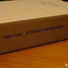 Libros: DE HUMANI CORPORIS FABRICA (VESALIO) - EDP. Lote 209297622