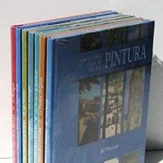 Libros: GRANDES TEMAS DE LA PINTURA - COLECCION 7 TOMOS - CLUB INTERNACIONAL DEL LIBRO - PRECINTADOS. Lote 210335600