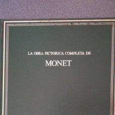 Libros: OBRA PICTÓRICA COMPLETA DE MONET. Lote 210372937