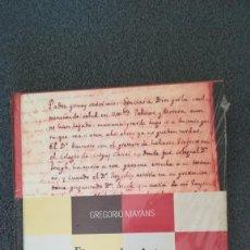 Libros: EL ARTE DE PINTAR. GREGORIO MAYANS. Lote 210455525