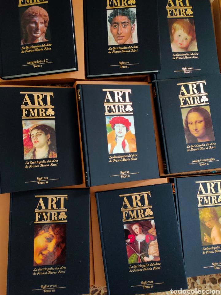 Libros: ART FMR. La Enciclopedia del Arte de Franco Maria Ricci. 17 tomos. - Foto 2 - 210675786
