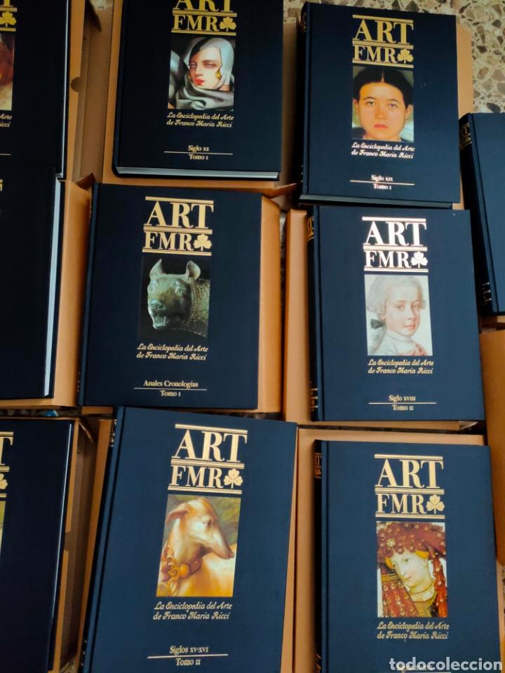 Libros: ART FMR. La Enciclopedia del Arte de Franco Maria Ricci. 17 tomos. - Foto 4 - 210675786