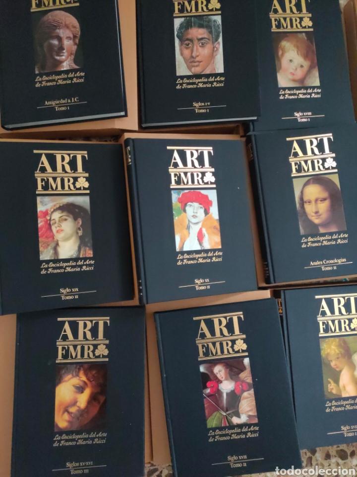 Libros: ART FMR. La Enciclopedia del Arte de Franco Maria Ricci. 17 tomos. - Foto 6 - 210675786