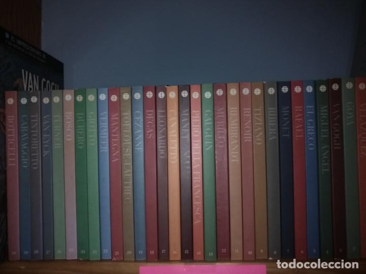 LOTE 25 LIBROS GRANDES GENIOS DEL ARTE (Libros Nuevos - Bellas Artes, ocio y coleccionismo - Pintura)