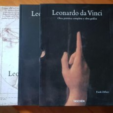 Libros: LEONARDO DA VINCI. TASCHEN. Lote 211516447