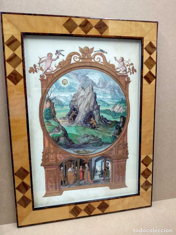 MINA, DIBUJO DE HANS HOLBEIN, SPLENDOR SOLIS EDICIONES MOLEIRO 2011 MONTAJE CUADRO (Libros Nuevos - Bellas Artes, ocio y coleccionismo - Pintura)