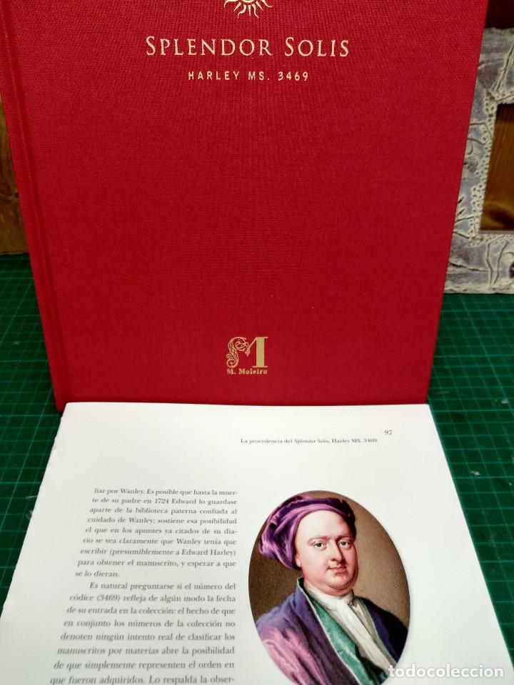 Libros: Mina, Dibujo de Hans Holbein, Splendor Solis Ediciones Moleiro 2011 montaje cuadro - Foto 2 - 212723421