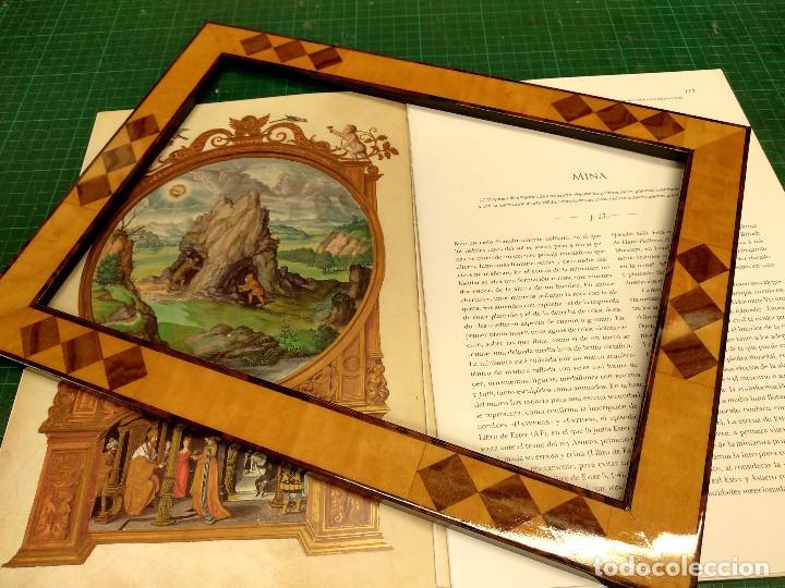 Libros: Mina, Dibujo de Hans Holbein, Splendor Solis Ediciones Moleiro 2011 montaje cuadro - Foto 3 - 212723421