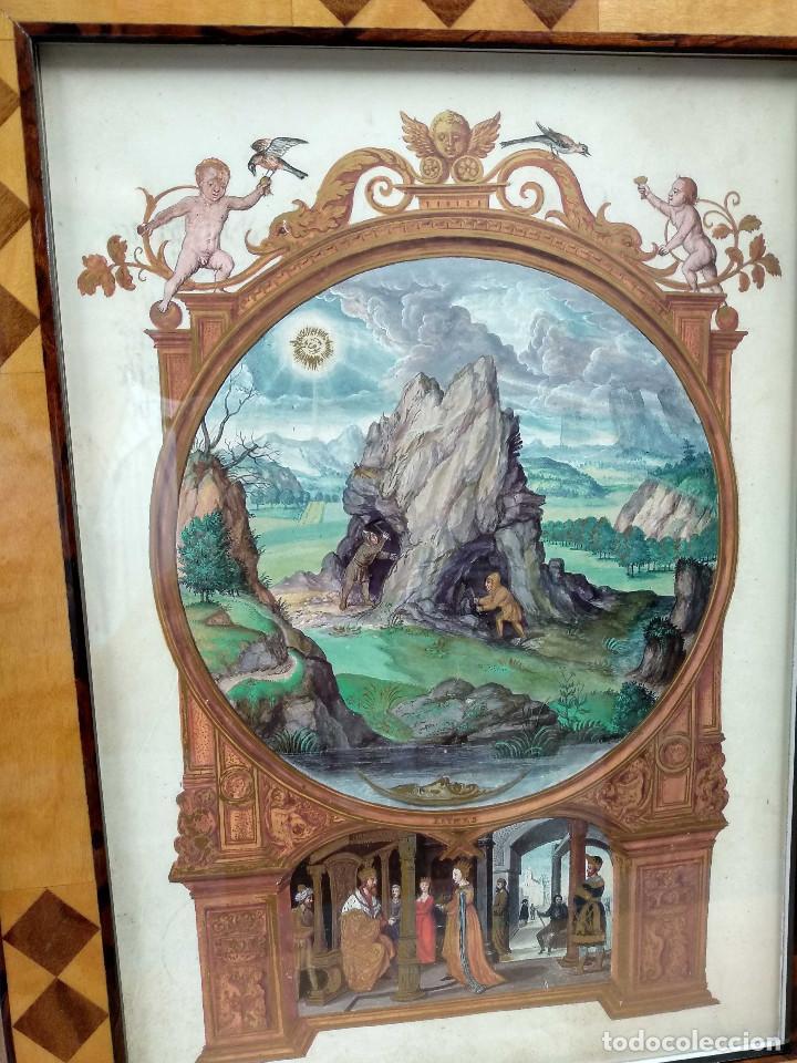 Libros: Mina, Dibujo de Hans Holbein, Splendor Solis Ediciones Moleiro 2011 montaje cuadro - Foto 7 - 212723421