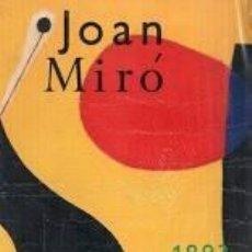 Libros: JOAN MIRÓ 1893/1993 - CATÁLOGO DE LA EXPOSICIÓN - NUEVO. Lote 213948735