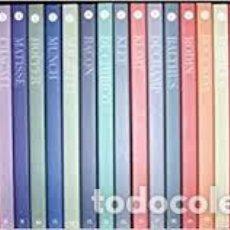 Libros: BIBLIOTECA EL MUNDO: GRANDES GENIOS DEL ARTE CONTEMPORÁNEO DEL S. XX - EL MUNDO 2001. COMPLETA. Lote 213949631