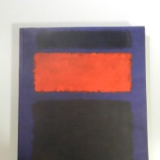 Libros: CATALOGO MARK ROTHKO -FUNDACION JOAN MIRO 2001 LIBRO PINTURA. Lote 214258983