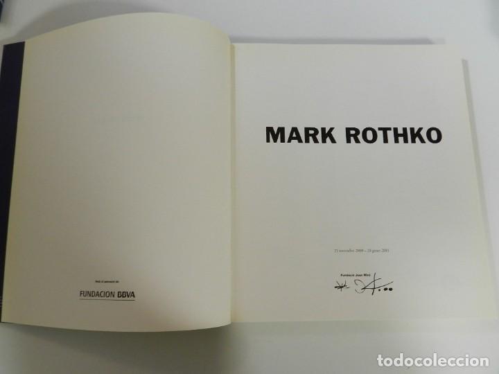 Libros: CATALOGO MARK ROTHKO -FUNDACION JOAN MIRO 2001 LIBRO PINTURA - Foto 3 - 214258983