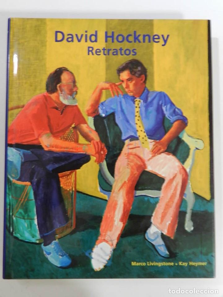 DAVID HOCKNEY: RETRATOS MARCO LIVINSTONE EDITORIAL CARTAGO, 2003 LIBRO PINTURA (Libros Nuevos - Bellas Artes, ocio y coleccionismo - Pintura)