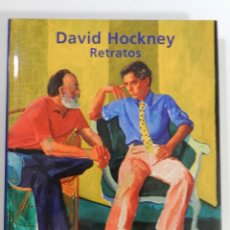 Libros: DAVID HOCKNEY: RETRATOS MARCO LIVINSTONE EDITORIAL CARTAGO, 2003 LIBRO PINTURA. Lote 214260167