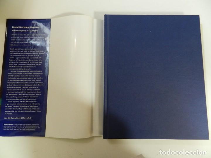 Libros: DAVID HOCKNEY: RETRATOS MARCO LIVINSTONE EDITORIAL CARTAGO, 2003 LIBRO PINTURA - Foto 2 - 214260167