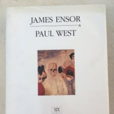 Libros: JAMES ENSOR BY PAUL WEST. Lote 214863603