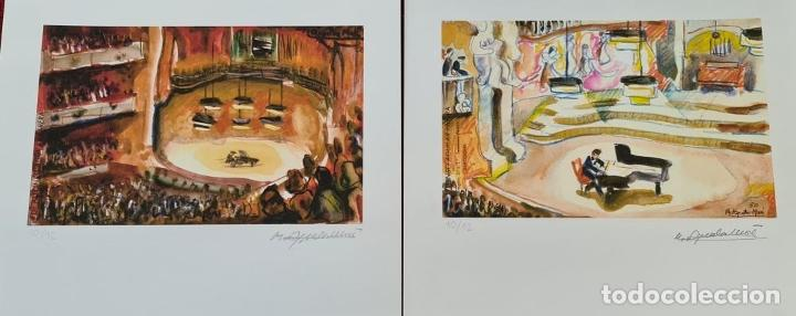 Libros: 50 AÑOS DE DIBUJOS DE AGUILAR MORÉ. 4 LITOGRAFÍAS DE SERIE LIMITADA. 2003. - Foto 5 - 216419395