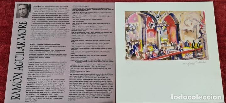 Libros: 50 AÑOS DE DIBUJOS DE AGUILAR MORÉ. 4 LITOGRAFÍAS DE SERIE LIMITADA. 2003. - Foto 8 - 216419395