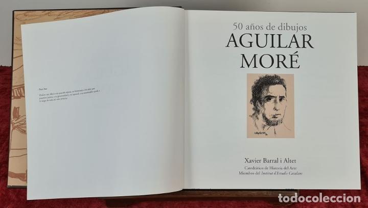 Libros: 50 AÑOS DE DIBUJOS DE AGUILAR MORÉ. 4 LITOGRAFÍAS DE SERIE LIMITADA. 2003. - Foto 9 - 216419395