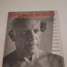 Libros: PICASSO Y EL MEDITERRÁNEO EDICION ANAYA. Lote 216794972