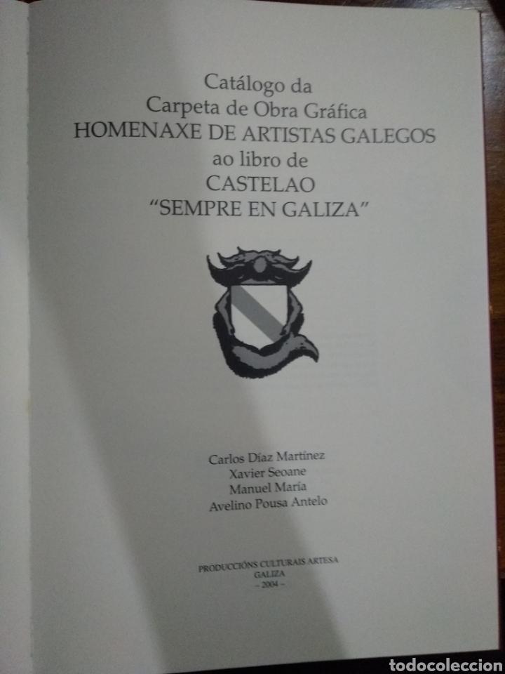 Libros: Castelao siempre en galiza - Foto 3 - 218326665