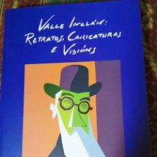 Libros: VALLE INCLAN RETRATOS , CARICATURAS E VISIONS POR SIRO. Lote 220841250