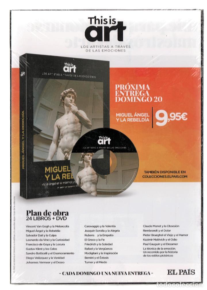 Libros: VICENT VAN GOGH Y LA MELANCOLÍA MONOGRÁFICO ED EL PAÍS 2020 COL THIS IS ART LIBRO + DVD PLASTIFICADO - Foto 14 - 221672081