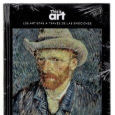 Libros: VICENT VAN GOGH Y LA MELANCOLÍA MONOGRÁFICO ED EL PAÍS 2020 COL THIS IS ART LIBRO + DVD PLASTIFICADO. Lote 221672081