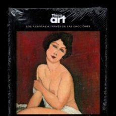 Libros: AMEDEO MODIGLIANI Y LA INSPIRACIÓN MONOGRÁFICO EL PAÍS 2020 COL THIS IS ART LIBRO DVD + PLASTIFICADO. Lote 221712057