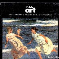 Libros: JOAQUÍN SOROLLA Y LA ALEGRÍA MONOGRÁFICO ED EL PAÍS 2020 COLECC THIS IS ART LIBRO DVD + PLASTIFICADO. Lote 221821201