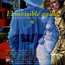 Libros: EL INVISIBLE ANILLO Nº9 - REVISTA DE LITERATURA ILUSTRADA Y DE CREACIÓN- LIBRO NUEVO- GASTOS DE ENV. Lote 222323260