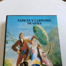 Libros: LOTE DE 2 LIBROS DE GOYA ( VIDA COTIDIANA EN TIEMPOS DE GOYA Y TAPICES Y CARTONES DE GOYA ). Lote 222892427